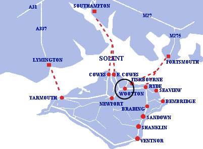 IOW Map Crossings