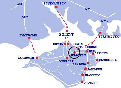 IOW Map Crossings